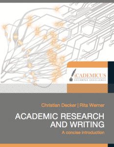 E-book academic research and writing